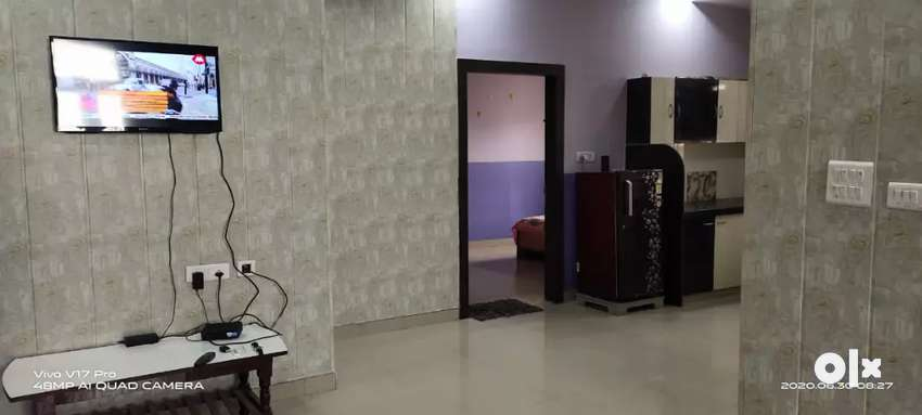 @2 BHK fully furnished flat for rent  in Vaishali e Nagar Ajmer road. 0