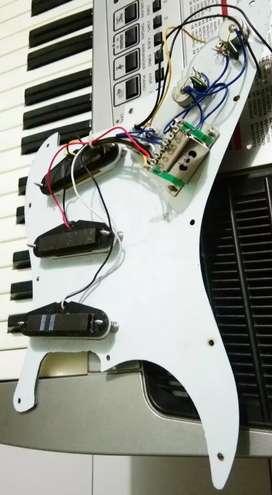 Set wiring stratocaster