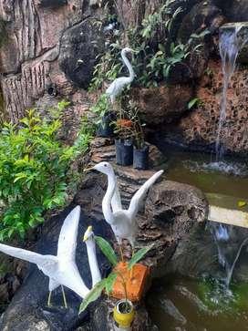 Burung bango patung
