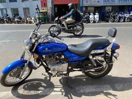 Bajaj Avenger 220 well maintain vehicle 2014 model in blue color