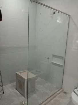 Shower bok kaca tempered