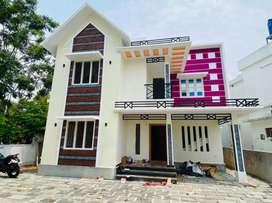 Newly built 4 cent 1750 sqft 3 bhk  at kakkanad near kuzhivelipady