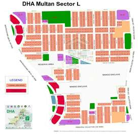 Dha Multan Plot Available in sector L