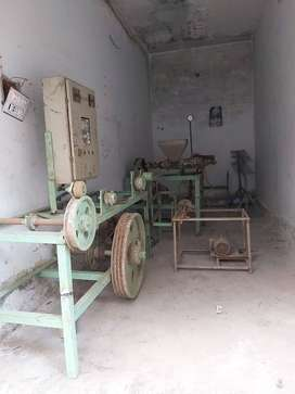 Wire making machine used
