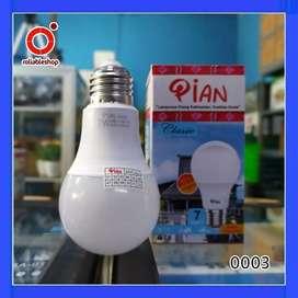 Pian Classic Lampu LED Bulb A 7 Watt Garansi 1 Tahun - 0003