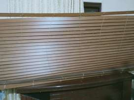 Wooden blinds in perfect condition