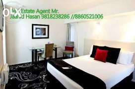 Sec- 29 fully furnished studio apartment for rent in noida