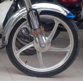 Motorcycle Alloy Rims for 70 cc.