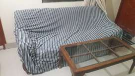 5 seater Sofa Set in good condition with cover