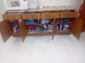 Sale divider with dressing table