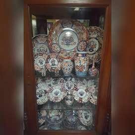 Bundling keramik Imari Jepang