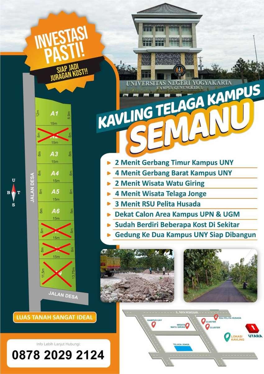 Tanah Kavling UNY Universitas Negeri Yogyakarta Semanu Gunungkidul