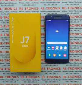 Samsung J7 Duo Color Blue 4 GB 32 GB Box charger Available