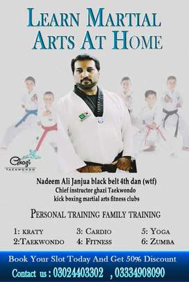 Martial arts and Fitness trainer