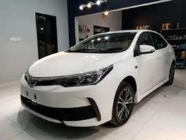 Toyota corolla XLI Get your on car in just 20% Down payment