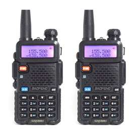 Walkie talkie New UV-5R Dual Band Handheld Two way Radio Interphone