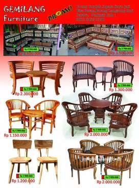 Furniture cantik bahan jati