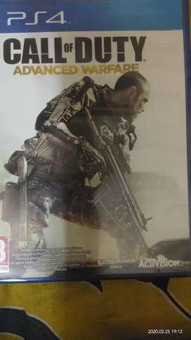Playstation 4 Call of duty advanced warfare