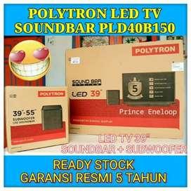 Promo Tv Led Polytron 39 In atau 40 In Soundbar Murah