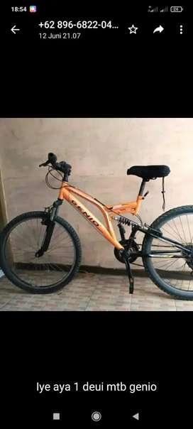"""Sepeda mtb Genio ukuran 24"""" siap goes"""