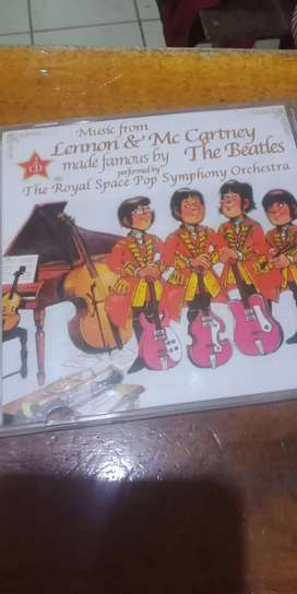 Cd original beatles orchestra