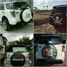 Cover/Sarung Ban Serep Ford Ecosport/Rush/Terios escudo jeep ceria jos