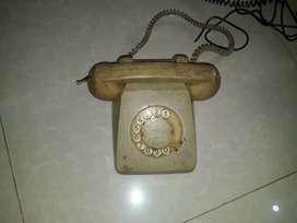 Telephone putar jadul era tahun 70 an,kondisi bagus siap display