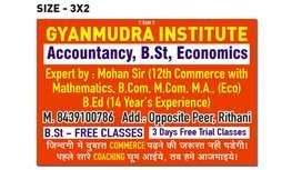 Accountancy, b.st, eco