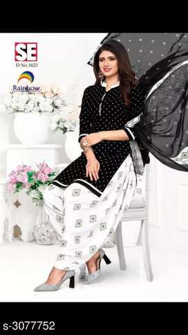 Exclusive Suit & Dress Material we will send by courier only