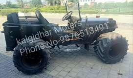 Modified  Black Shine paint  jeep