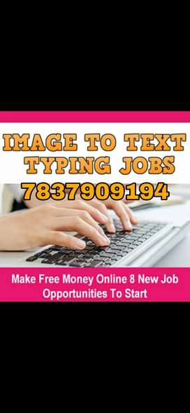 Type writer.. Easily earning.Simple work with no target