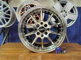 Velg Mobil Racing HSR BALKEN Ring 15 Untuk Avanza Xenia Livina Dll