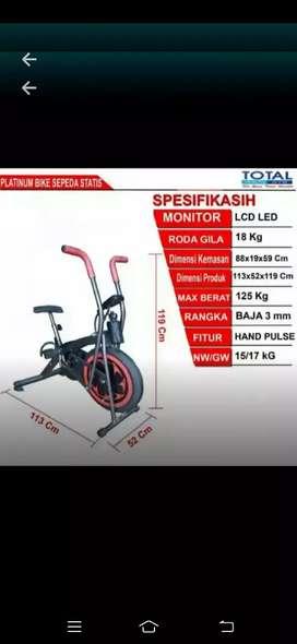 Prambon gym platinum bike 2fungsi