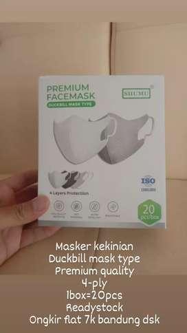 Masker Duckbill Premium