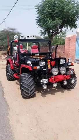 Willy jeep Modified by BOMBAY JEEPS AMBALA, Open jeep, Bookings open
