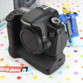Canon 60D  Body only Unit A Kondisi mulus grade A