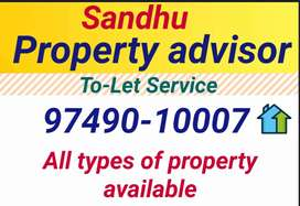 2 bhk Independent kothi & 3 bhk 15000/