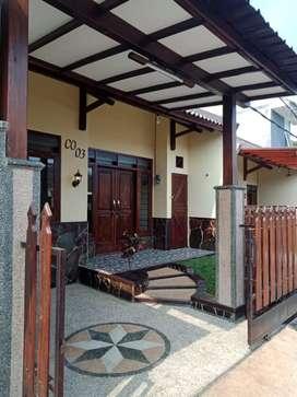 Rmh cantik mdl country di Villa Gunung Buring, Cemorokandang, Malang