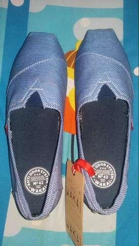 Footwear Pria Slip-On WAKAI Stonewash
