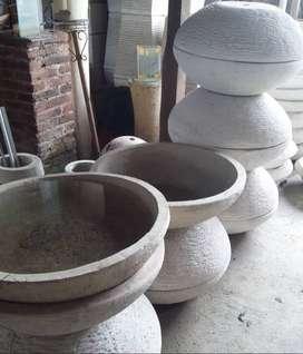 Pot Ceper Terazo Unik dan Cantik Bentuk Ceper