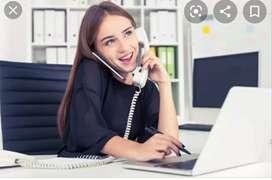 Female personal secretary