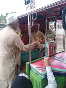 Newasia rickshaw which is in a good condition