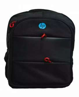HP Red Zipper Laptop Backpack