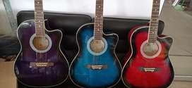 Power X3 colours Acoustica Guitar s