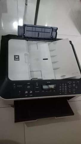 Mesin fotocopy,  print, fax dan scan merk canon pixma mx 366