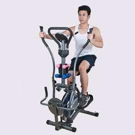 Orbitrack Transparan Sepeda Statis Fitness Gym