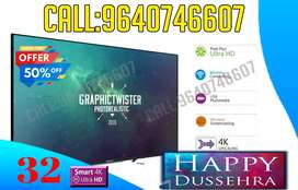 "32"" Full HD LED Smart TV with Ultra Thin Bezel  Dinora"