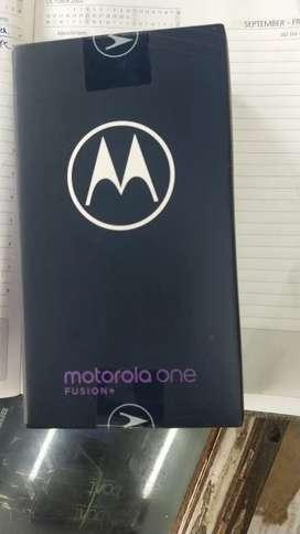 Motorola one fusion plus 6gb 128gb new