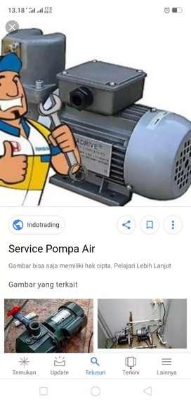 Ahli service segala jenis pompa air 24 jam .