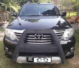 Toyota Fortuner G BE LamSel Pajak Hidup Panjang Siap Pakai No PR